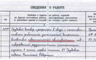 Увольнение за несоответствие занимаемой должности: статья тк рф и нюансы