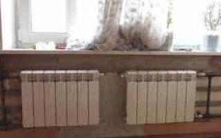 Замена батареи отопления в квартире — как и в каком порядке выполняется работа