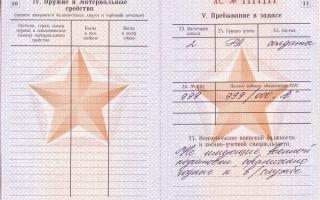 Категория годности в военном билете — где посмотреть и что значит