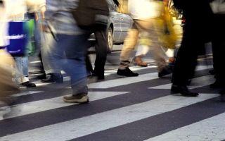 Штраф за непропуск пешехода — разъяснение нюансов
