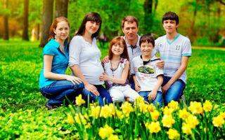 Какая семья считается многодетной в россии и регионах