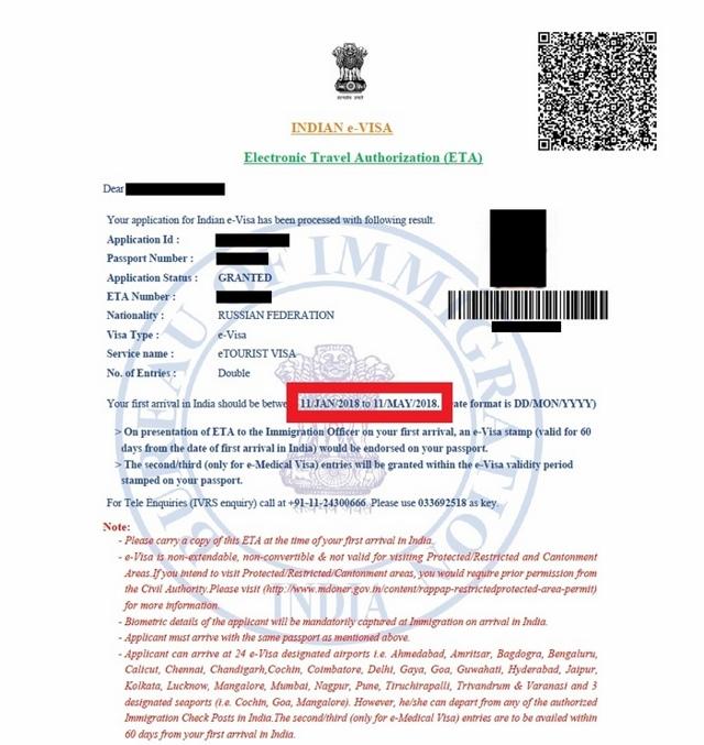 Виза на ГОА - правила въезда и необходимые документы