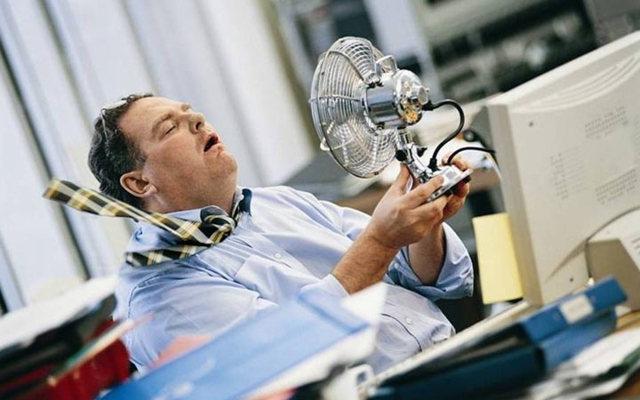 Сокращение рабочего дня при высокой температуре воздуха