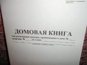 Как получить выписку из домовой книги через Госуслуги