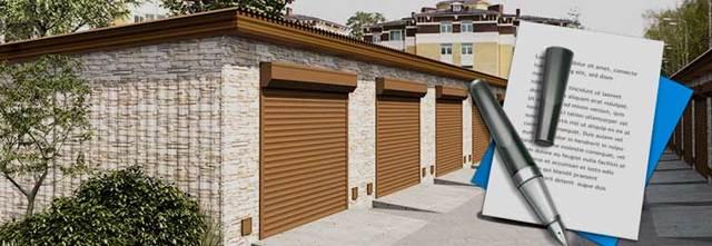 Как составить договор аренды на гараж между гражданами