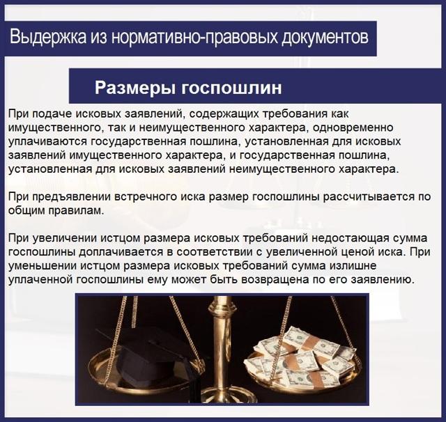 Как рассчитать госпошлину в суды общей юрисдикции: важные нюансы