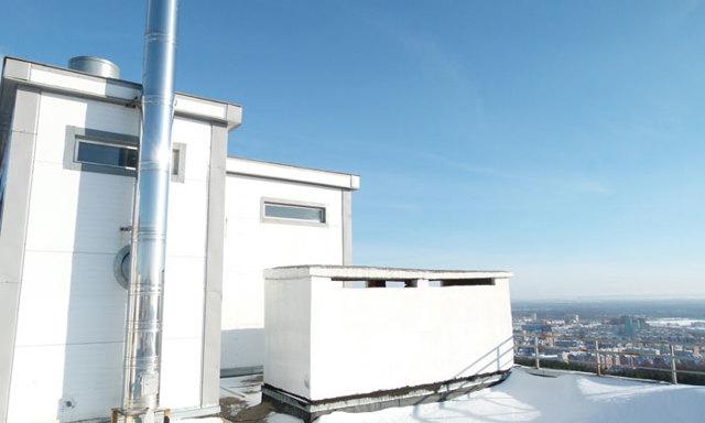 Крышная котельная в многоквартирном доме - идеальное решение