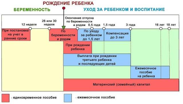Как оформить финансирование детских пособий в России
