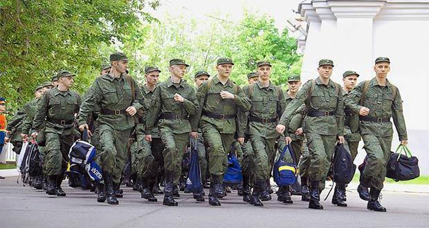 Прохождение военной службы по призыву в 2020 году