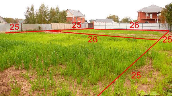 Как разделить земельный участок на два участка