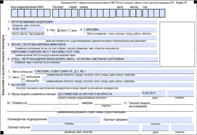Замена паспорта при порче: порядок действий и стоимость