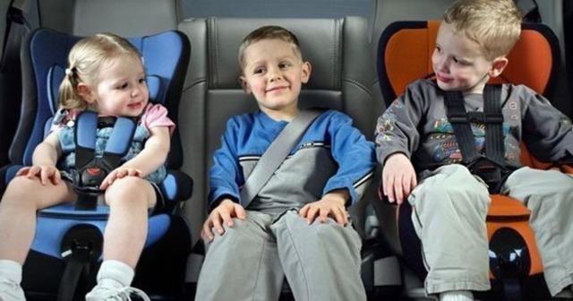 Штраф за отсутствия детского кресла