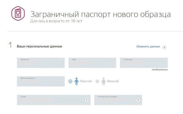 Электронная очередь на загранпаспорт: запись через интернет