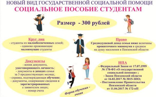 Социальная помощь: виды, цели, порядок и сроки назначения