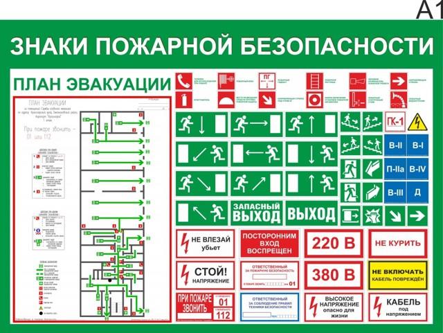 План эвакуации при пожаре - сделать самому и с помощью ПО
