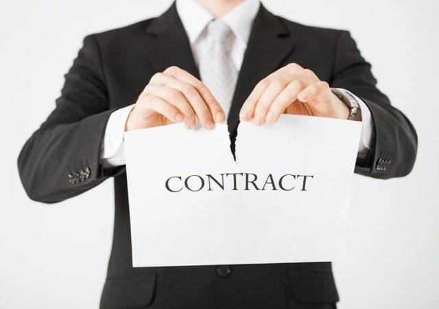 Расторжение договора оказания услуг: способы и последствия