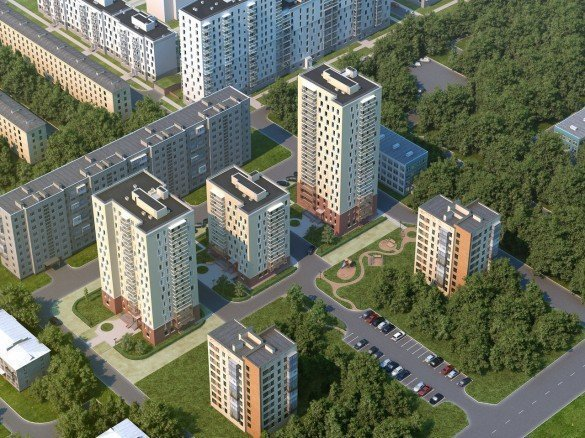 Площадки для строительства домов под новую программу сноса пятиэтажек