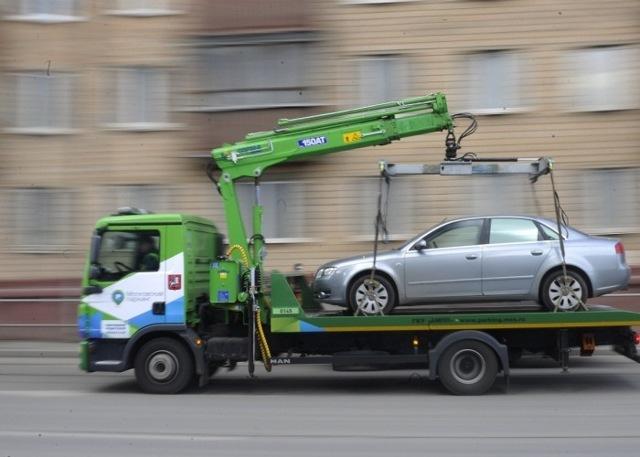 Как забрать машину со штрафстоянки