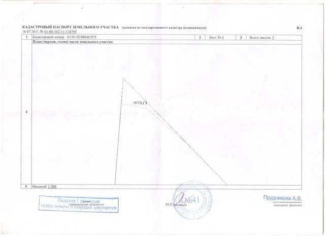 Кадастровый паспорт на земельный участок: особенности документа