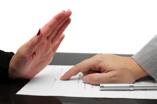Как отказаться от кредита после подписания договора