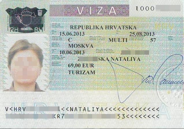 Хорватия виза для россиян в 2020 году - как получить разрешение?