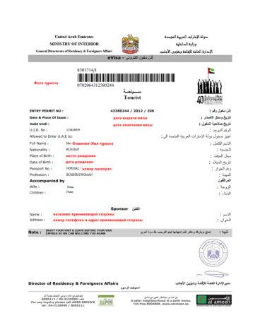 Виза в Дубай: документы для получения и процесс оформления