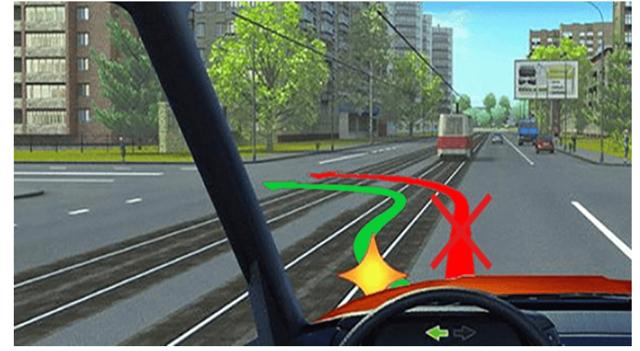 Трамвайные пути в ПДД: можно ли ездить, штрафы
