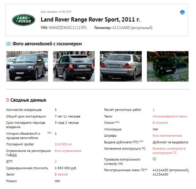 Как узнать по номеру авто узнать владельца и его данные