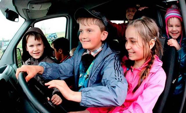 Автомобиль для многодетной семьи - возможности программы