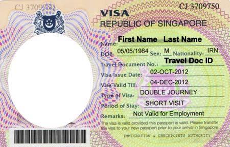 Виза в Сингапур - необходимые документы и порядок действия