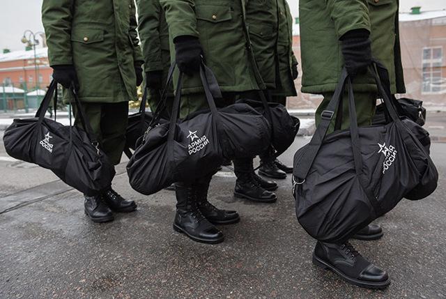Как забрать вещи призывника из военкомата