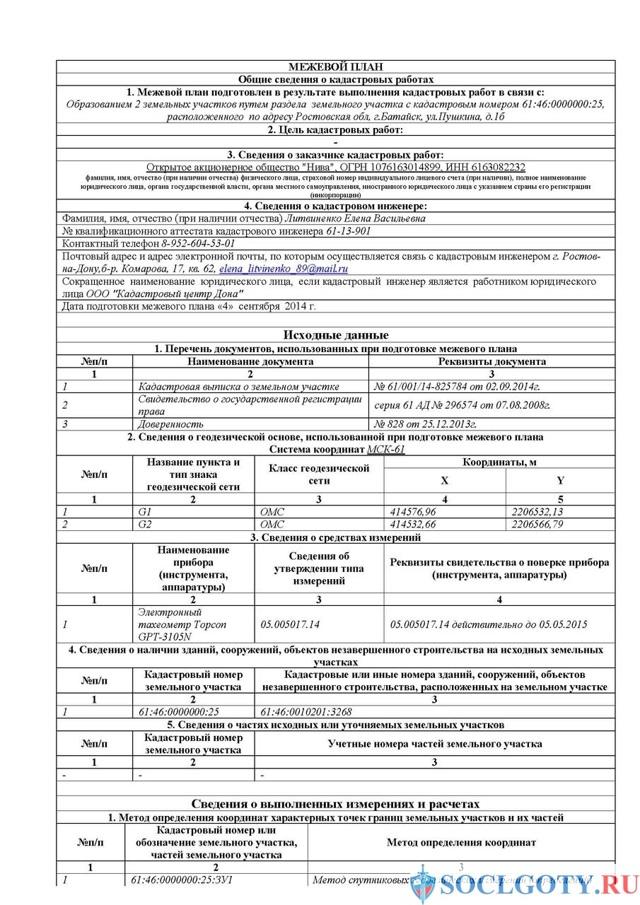 Закон о межевании земельных участков в Российской Федерации