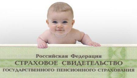 Получение СНИЛСа на ребенка через портал Госуслуг