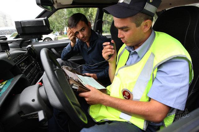 Штраф за езду без прав и передача управления автомобилем лицу не имеющему прав