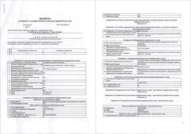 Госпошлина за выписку из ЕГРЮЛ: особенности и способы оплаты