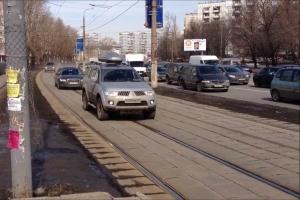 Разрешается ли езда по трамвайным путям встречного направления
