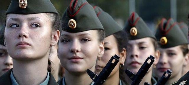 Служба по контракту в армии для женщин