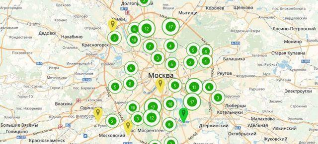 Адреса переселения по реновации - список участников программы