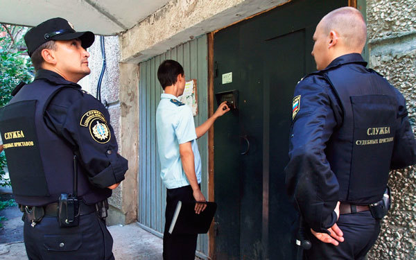 Какое имущество могут арестовать судебные приставы за неуплату кредита
