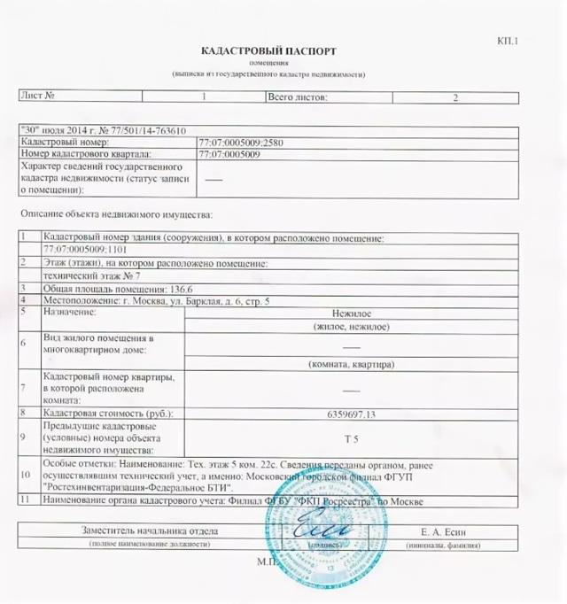Срок действия кадастрового паспорта на квартиру, землю или дом